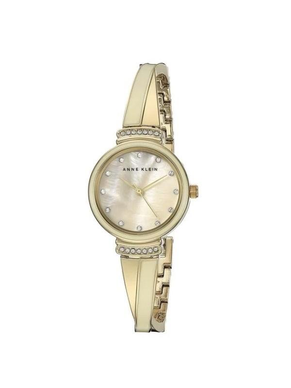 Anne Klein Gold-Tone Metal Ladies Watch AK-2216IVGB