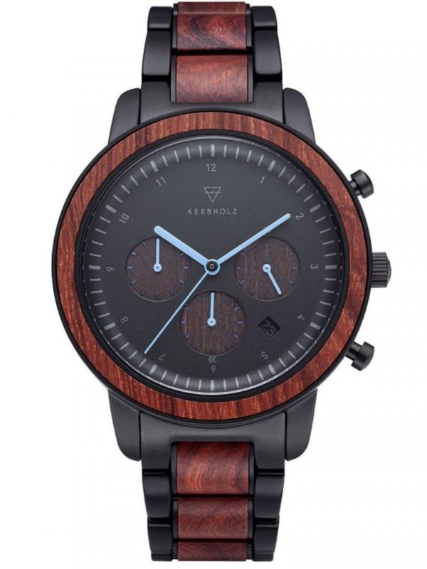 Men's Watch Chronograph Maximilian Rosewood/Black