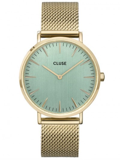 CW0101201027 Women's Wristwatch La Bohème Gold Tone / Turquoise