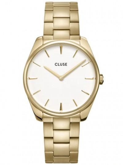 CW0101212005 Women's Wristwatch Féroce Gold Tone / White