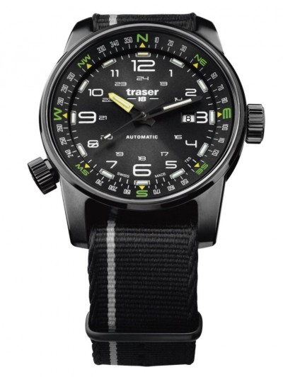 107718 Mens Watch P68 Pathfinder Automatic Black