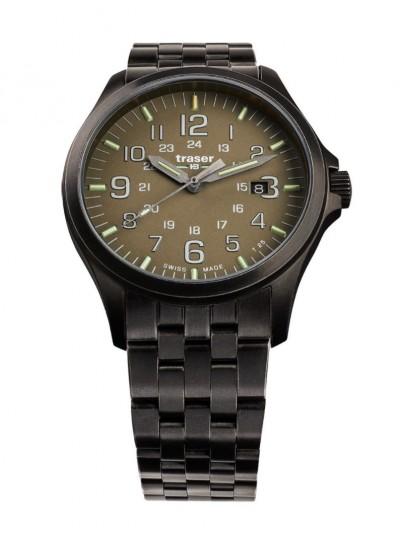 108738 Men´s Wristwatch P67 Officer Pro Gunmetal/Khaki