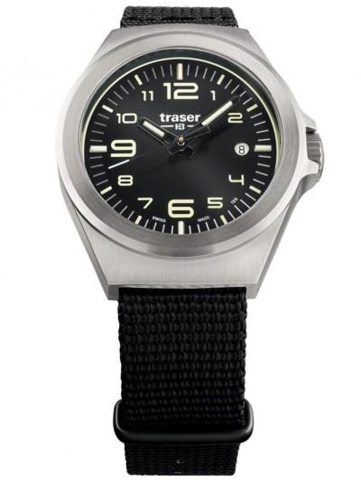 108637 Wristwatch in Unisex Size P59 Essential S Black