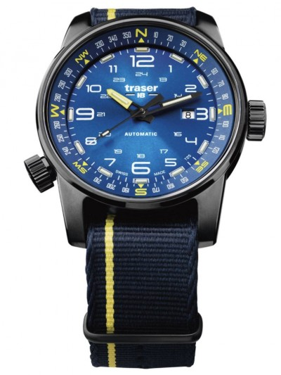 107719 Mens Watch P68 Pathfinder Automatic Blue
